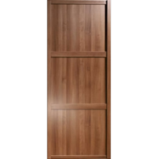 "Shaker Sliding Wardrobe Door 914mm (36"") Walnut Panel Door"